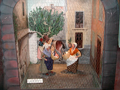 S-d-l-vie prov Vevey 16 (Les Crches du Monde) Tags: olives provence santons lavandiere