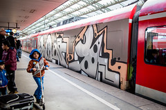 Roky (Flowizm) Tags: graffiti cologne kln traingraffiti wholecar graffitigermany