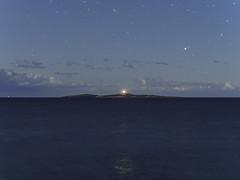 nighthouse (pikeyc) Tags: longexposure lighthouse night australia newsouthwales mysterybay montagueisland olympusomdem5 17mmf18