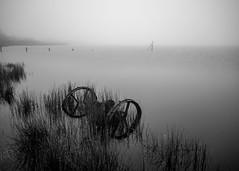Axel (Robgreen13) Tags: uk water rain misty fog fence cornwall reservoir axel liskeard ndfilters collifordlake