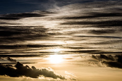 Painted Sky - Cleeve Hill, Gloucestershire. (Jeremiah Huxley Productions) Tags: england gloucestershire cheltenham cleevehill