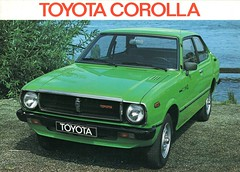 Toyota Corolla 1978 brochure (Netherlands) (harry_nl) Tags: netherlands scan toyota 1978 brochure corolla