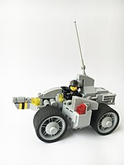 NCS Diplomatic Courier - LL 201 InterRegioRover (Chiefrocker9000) Tags: lego space rover cs ncs legospace foitsop neoclassicspace febrovery16