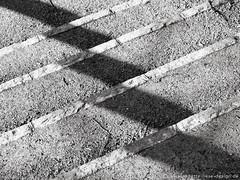 Stairway & shadows 1 (photodesignette) Tags: treppe schatten abstrakt treppenstufen