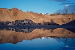 Home IV (Cody Schroeder) Tags: winter sky reflection water washington spring still northwest sony voigtlander symmetry loonlake 40mm pnw a7 nokton