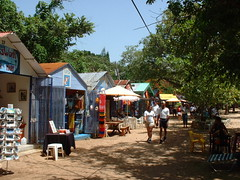 Beachshops (hcorper) Tags: people beach dominicanrepublic huts shops sosua ditat