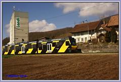 20160326-00035a (r_walther) Tags: star schweiz che snb asm wespe gelbschwarz stadler schmalspur kantonbern oberbipp ojb be48 solothurnniederbippbahn aareseelandmobil oberaargaujurabahn