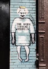 Watermellon  Queen LES Manhattan NYC Art Gothams_ambassador (timyoungstudionyc) Tags: nyc art les manhattan queen watermellon gothamsambassador