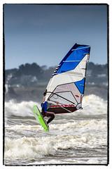 Planche à voile à Fort-Bloqué (gjack56) Tags: mer france sport europe bretagne windsurfing fr morbihan fra guidel plancheàvoile guidelplage fortbloqué 15000000 15071000 iptcnewscodes iptcsubjects continentsetpays