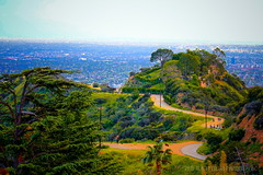 Runyon Canyon Before It Was Closed! ( In 2 Making Images | L.A.) Tags: california ca cali losangeles spring hiking jogging runyoncanyon cityview photomatix hdrphotography discoverla
