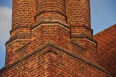 DSC_8455 [ps] - Dom Top (Anyhoo) Tags: uk roof chimney england brick architecture tile masonry surrey chimneys wisley rhswisley lowsun rhs tiled royalhorticulturalsociety thelaboratory anyhoo photobyanyhoo