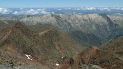 Widok z Pic Verdaguer na zachód