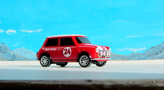 Canned Heat Radio Controlled Mini Cooper By Tyco R/C Mattel Incorporated 1998 : Diorama Boneville Salt Flats - 10 Of 21 (Kelvin64) Tags: by radio salt mini flats cooper heat canned 1998 rc mattel diorama incorporated controlled tyco boneville