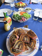IMG_3500-013016 (octoberblue13) Tags: vegetables fruit reuben sandwiches skewers
