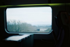 Reflecting ⑤ ❮Explored❯ (Rob₊Lee) Tags: italy rome film window train florence