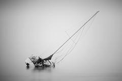 Death Comes in the Fog (josesuro) Tags: bw fog digital tampabay florida derelicts 2016 bocaciegabay afsnikkor300mmf4ifed jaspcphotography nikond750