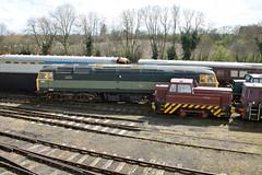 47192-Barabel-NV-09042016-1 (RailwayScene) Tags: sentinel nvr wansford class47 barabel nenevalleyrailway 47192 d1842