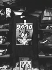 It's over 9000! DBZ at Spencer's (sobieniak) Tags: dbz