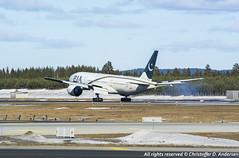 AP-BGL (14) (Christoffer Andersen) Tags: oslo airplane boeing pia osl b777 pakistaninternationalairlines b777200 b777200er passengerplanes osloairportgardermoen