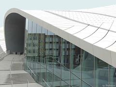 Arnhem Centraal EXPLORED! (Shahrazad26) Tags: holland reflection station architecture gare arnhem nederland thenetherlands bahnhof paysbas architectuur gelderland weerspiegeling reflectie spiegeling