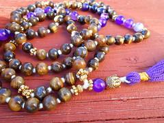 Mala 029 (innerjewelz@rogers.com) Tags: handmade traditional jewelry jewellery meditation custom mala 108 mantra intention knotted japamala innerjewelz