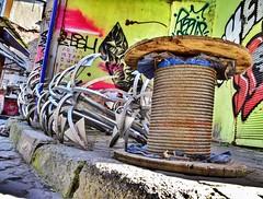 I refuse to sink⚓️ (dilekbal0922) Tags: street cute art photo cool anchor refuse photoart