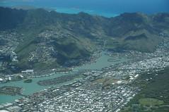 Aerial view of Kuapa Pond, Hawaii Kai Town, Windward coast (Eric Broder Van Dyke) Tags: aerialviewofkuapapond hawaiikaitown windwardcoast