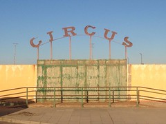Sign Circus Old Abandoned Places Rusty SPAIN (db fotografa) Tags: old sign spain circus rusty abandonedplaces
