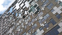Birmingham Architecture. (christianiani) Tags: abstract building architecture photography amazing birmingham flickr different image awesome photograph cube capture brilliant thecube