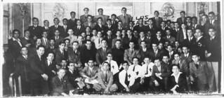 """24. """"Cristo en los Liceos Fiscales"""", con miembros de la Guardia del Santísimo"""