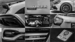 Mercedes-AMG A 45 4Matic details (Milo Fabian) Tags: car automobile automotive mercedesbenz amg carphotography aclass automotivephotography mbfanphoto heikokruse