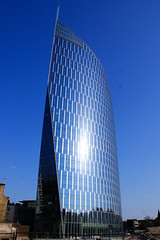Tour des Finances (Lige 2016) (LiveFromLiege) Tags: windows sunlight reflection building tower architecture tour belgium belgique contemporary liege spf luik lige belgien belgio wallonie lieja lttich belge contemporaine liegi tourdesfinances archilovers visitliege