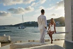 Mykonos Blanc Luxury Hotel (mykonosblanc) Tags: sea sky woman man love beach clouds boats looking greece leisure yachts luxury cyclades mykonos ornos ornosbeach mykonoshotel luxurymykonoshotel mykonosblanchotel mykonosblanc hotelinmykonos