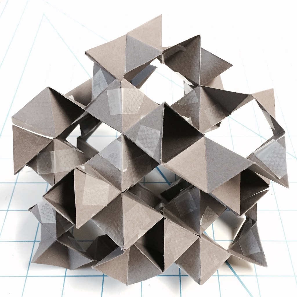 Woven Spinel Structure Miketanis Tags Art Architecture Paper Design Origami