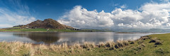 Broadwater Panorama (Howie Mudge LRPS) Tags: uk travel sea sky panorama travelling tourism nature water grass wales clouds river landscape outside outdoors nikon scenery day view bright pano postcard hill ngc cymru sunny scene panoramic estuary d750 fields fullframe polarizer ultrawide gwynedd polariser tywyn fantasticnature nikonuk 24120mmf4vr nikonwales