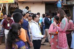 The Duke and Duchess of Cambridge in Mumbai (UK in India) Tags: india bhutan sunday mumbai watertank malabarhill bangangawatertank thedukeandduchessofcambridge 10april2016 1016april2016 royalvisitindia royalvisitbhutan