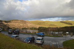 The Car Park of Bwlch Nant yr Arian (CoasterMadMatt) Tags: winter mountain mountains cars wales landscape march countryside natural photos hill cymru hills vehicles photographs carpark cambria ceredigion arian cambrian nant mynyddoedd 2016 nikond3200 naturallandscape cambrianmountains ponterwyd bwlch bwlchnantyrarian mynyddoeddcambria coastermadmatt coastermadmattphotography winter2016 march2016 bwlchnantyrarian2016