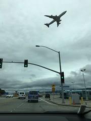 Airplane (sjrankin) Tags: sanfrancisco california northerncalifornia edited sanfranciscoairport 11april2016