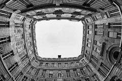 Mont pit ? (poupette1957) Tags: city travel sky urban house black paris art monument architecture canon french town photographie interior deco rue graphisme fishey grandangle parisblackandwhite atmosphre noieetblanc imagesingulires