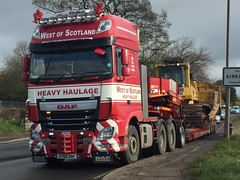 (andyrossonline) Tags: daf haulage stgo hgv heavyhaulage dafxf stgocat3 westofscotlandheavyhaulage st60daf