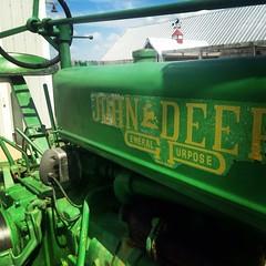 Laura Lane - Old John Deere (Missouri Agriculture) Tags: tractor green barn vintage john antique farming rustic mo missouri ag agriculture deere johndeere 2016 generalpurpose moag prideofthefarm missouriag