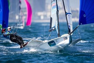 2016 49er European Championship©Pedro Martinez / Sailing Energy