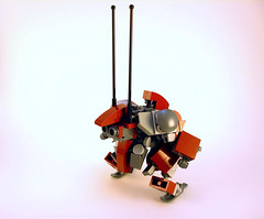 HR-53j Demi-Faulter- Comm Pack Detail (Jay Biquadrate) Tags: lego mecha mech moc microscale mfz mf0 mobileframezero