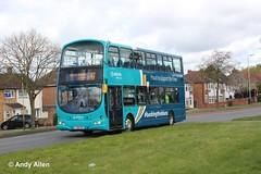 Arriva Midlands 4208 FJ58KXF (Andy4014) Tags: leicester arriva lcfc fj58kxf backingtheblues