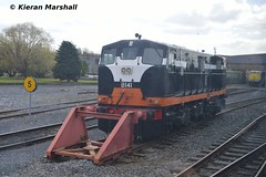 B141 at Inchicore, 25/4/16 (hurricanemk1c) Tags: irish train gm rail railway trains railways 141 irishrail generalmotors inchicore 2016 iarnród éireann rpsi iarnródéireann railwaypreservationsocietyofireland b141