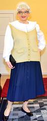 Ingrid021881 (ibach411) Tags: skirt blouse mature button waistcoat bluse pleated weste faltenrock durchgeknpft