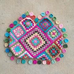 2016-04-19_07-08-13 (crochetbug13) Tags: bag square squares crochet purse crocheted tote grannysquare crocheting grannysquares