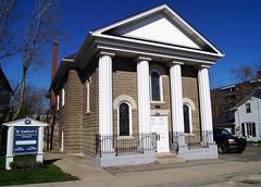 St. Andrew's Presbyterian Church (haunted snowfort) Tags: ontario canada church niagara lincoln standrews queenstreet presbyterian presbyterianchurch beamsville