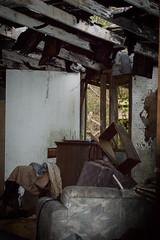 Abandoned (Kristina Leszczak) Tags: house building abandoned wall mess hole indoor ceiling messy inside fallingapart