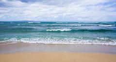 Ocean (ArneKaiser) Tags: ocean sea sky panorama beach weather clouds landscape hawaii maui pacificocean mauicollection ukumehamestatebeachpark